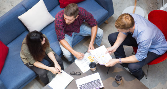 Budget planning for branding your office